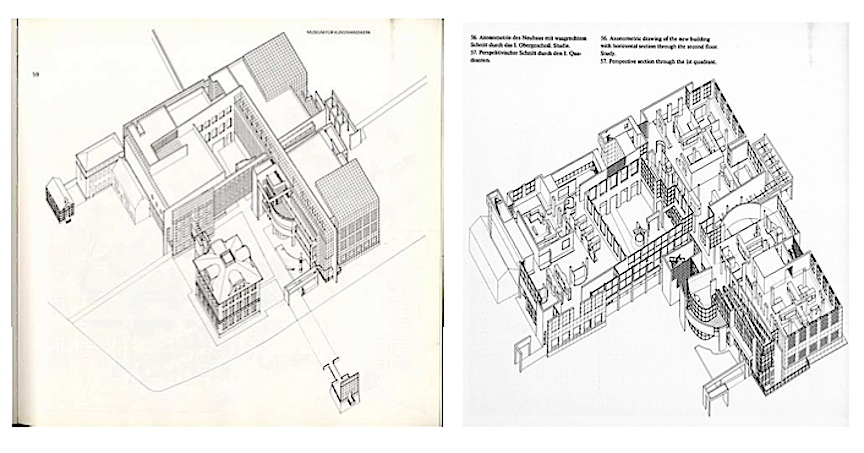 Addition to the villa metzler richard meier s for Design museum frankfurt